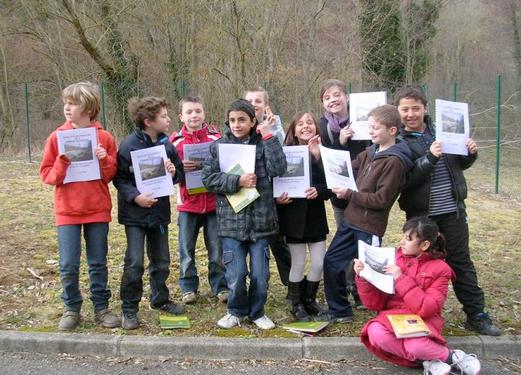 CM1 et CM2 de l'école Floryce Blanchery à Saint-Maurice-sur-Dargoire