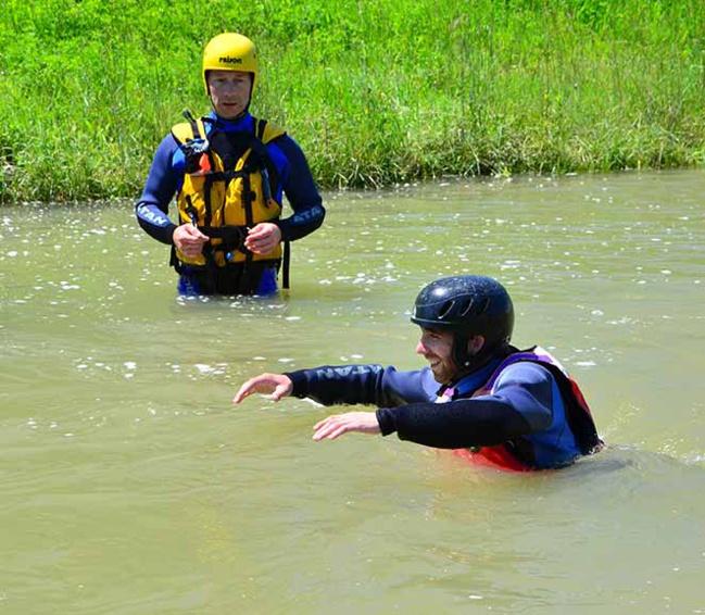 Formation en milieu inondé