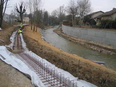 Les travaux de protection contre les crues progressent à Brignais