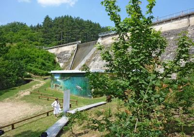 Barrage de Thurins : des aménagements tout neuf pour l'accueil des visiteurs