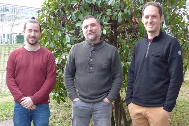 Vincent Lefèbvre, Daniel Roche et Grégoire Naudet ont intégré l'équipe du SMAGGA.