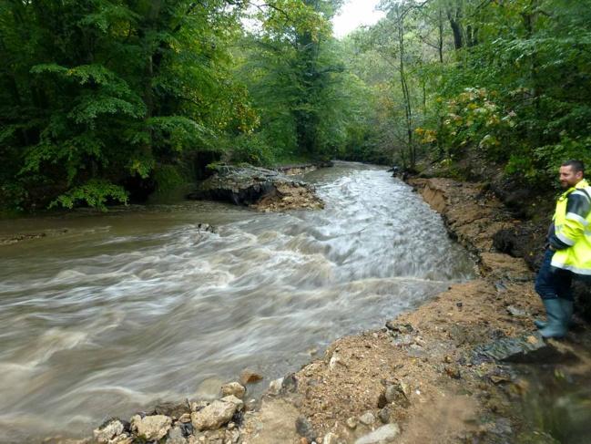 Garon - Seuil aval Vallée en Barret après aménagement