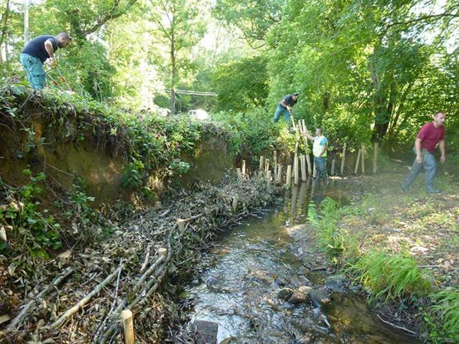 24 km de berges entretenus par la brigade de rivière en 2014