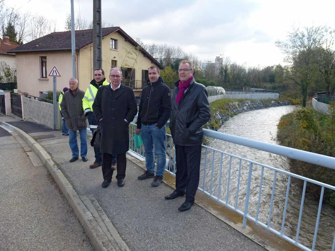 Une 3ème tranche de travaux de protection contre les crues réceptionnée à Grigny