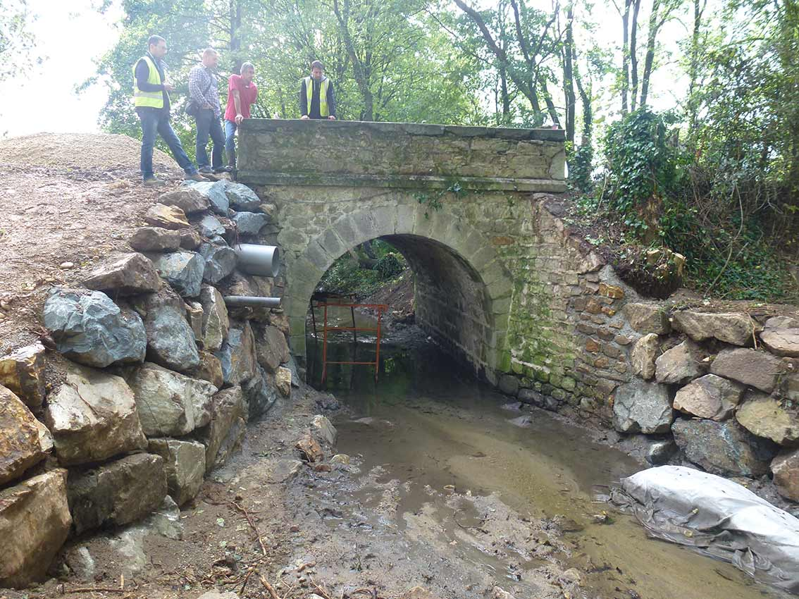 Nouvelle jeunesse pour le pont de Chablenas