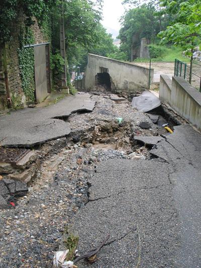 Inondation à Givors, vigilance sur le bassin versant du Garon
