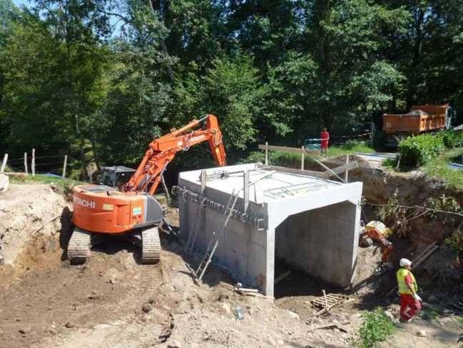 Conjuguer les intérêts hydraulique et écologique sur l'Artilla à Rontalon