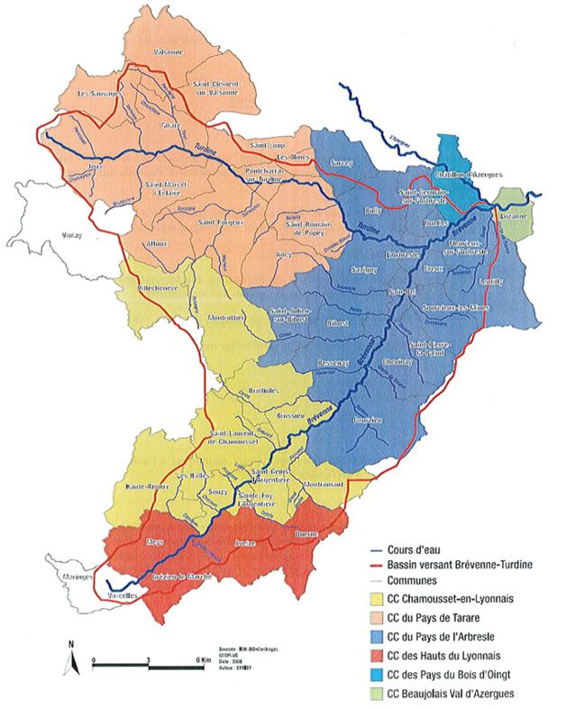 Partage d'expériences avec le Syndicat de rivières Brévenne Turdine