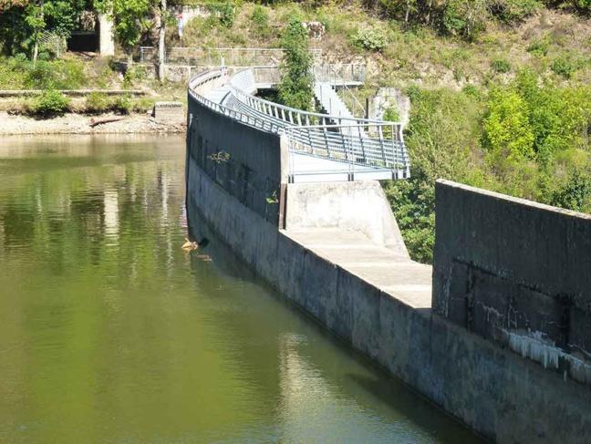 Le barrage de Thurins au secours du Garon