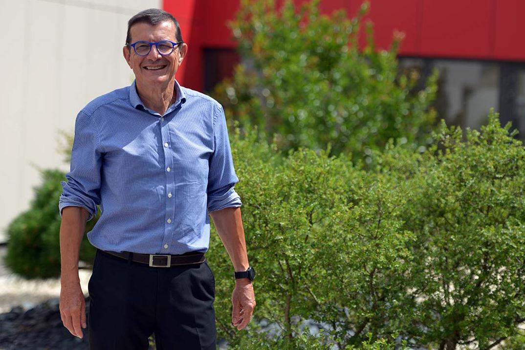 Serge Bérard succède à Paul Minssieux à la présidence du SMAGGA. Photo : Nicolas Kelen©