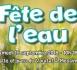 """Programme """"Fête de l'eau 2018"""""""